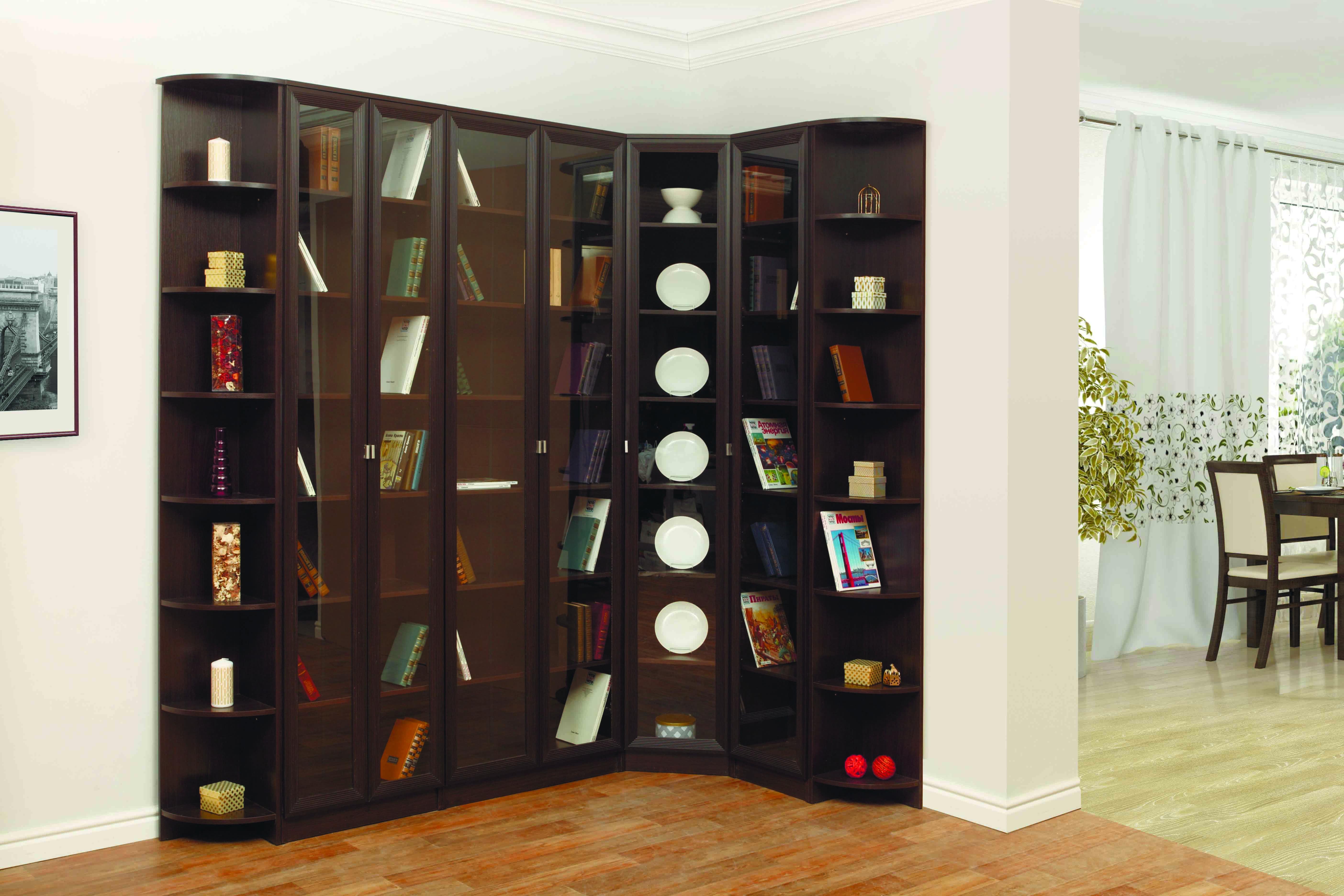 Книжный шкаф-библиотека своими руками 48